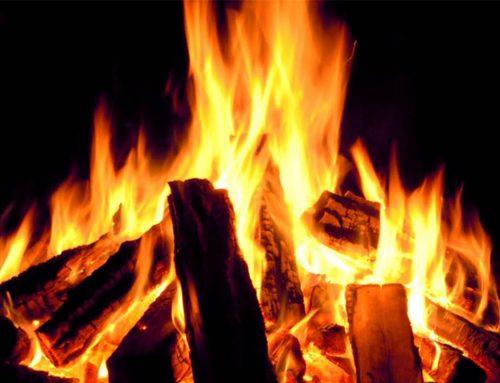 Alle balken in het vuur!