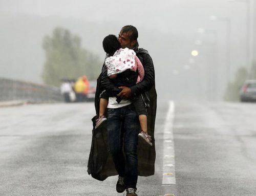 Eén vluchteling, die de wereld redde.