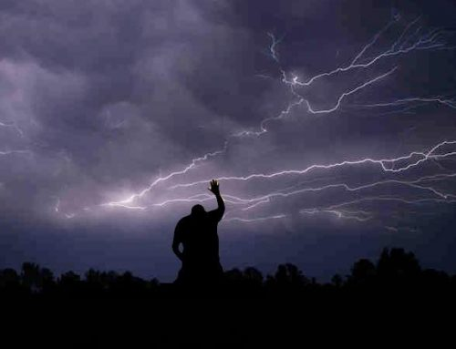 Wat als je geestelijk huis schudt?