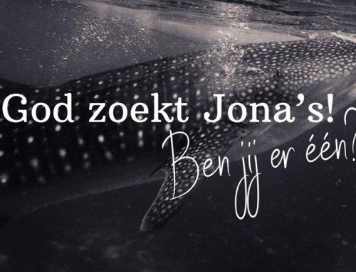 God zoekt Jona's.