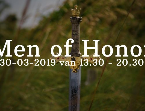 I AM Mannendag – Men of Honor
