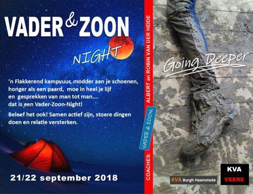 Vader en Zoon Weekend – Zeeland – 21+22 september
