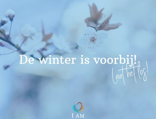 De winter is voorbij